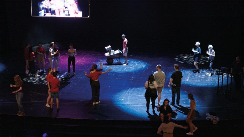 die Kunstkarre am Wiener Volkstheater