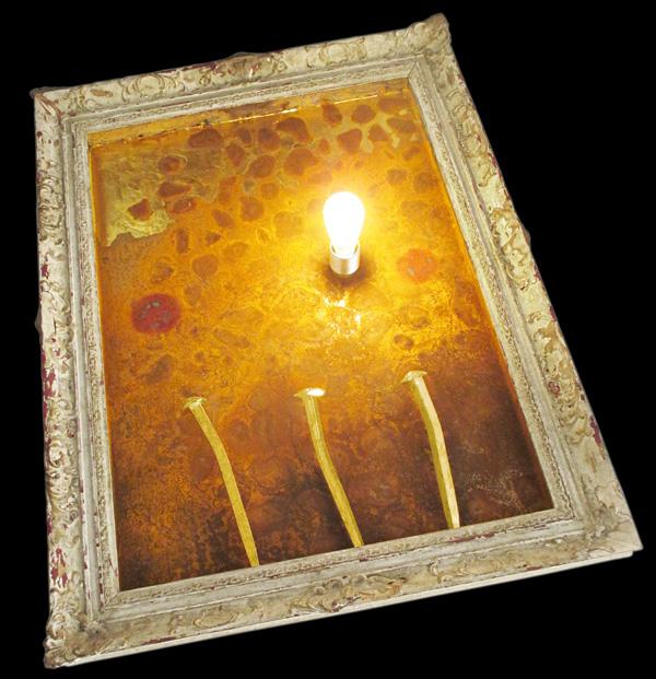 Wandlampe von Paul Sieben