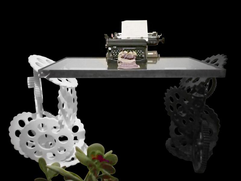 Design Schreibtisch von Paul Sieben
