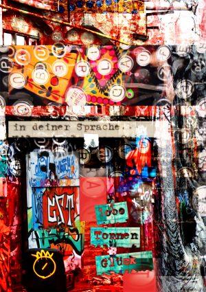 in deiner Sprache - 1000 Tonnen Glück - Pop Art Kunst